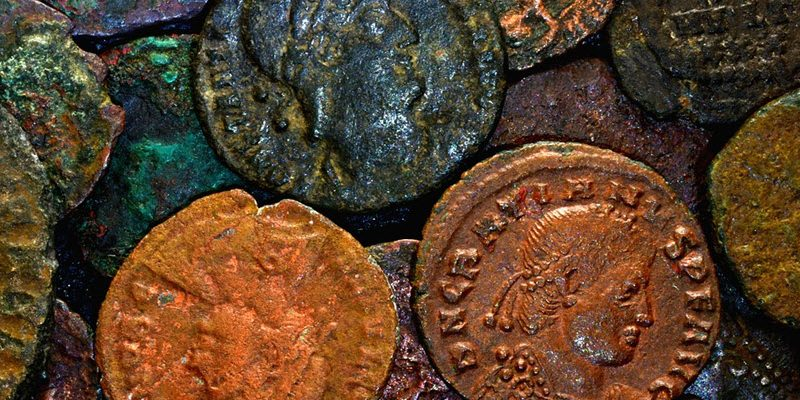 How to Clean Old Coins